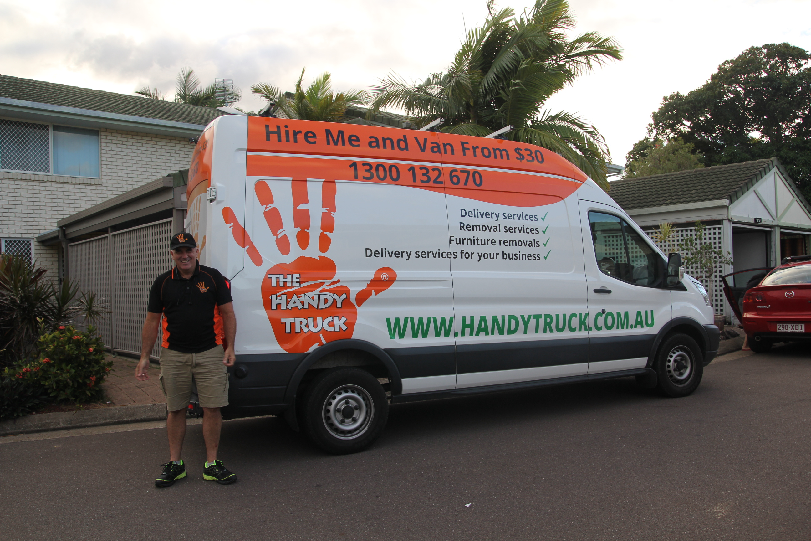 Man and Van Delivery Service. Great for small house removals and same day furniture delivery. Call us now.
